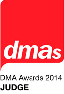 DMA awards judge 2014